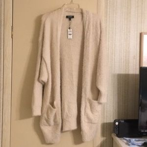 NWT soft plush wrap
